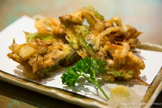 Yuzu: Vegetable tempura