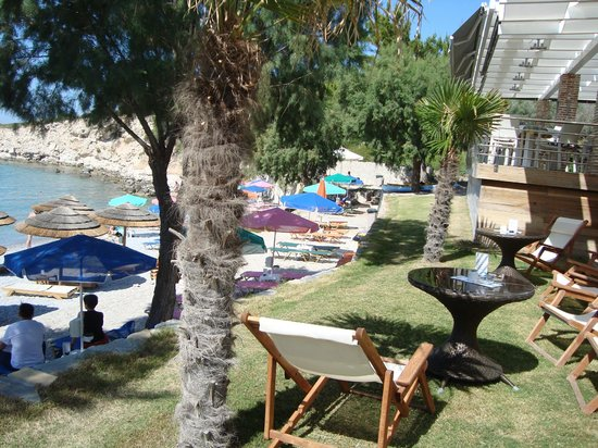 Glicorisa Beach: Beach right from top