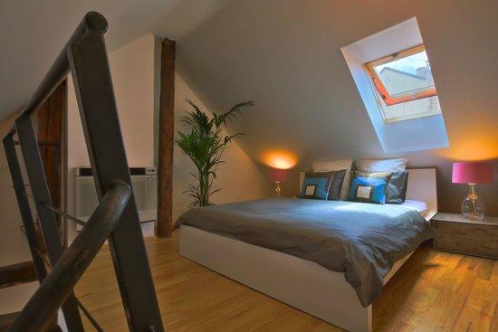 Apartments Ericsson Palace: Loft-Bedroom Apartment - bedroom