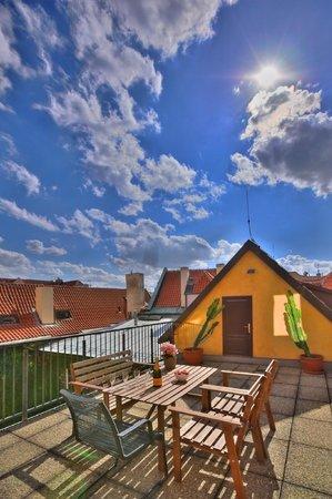 Apartments Ericsson Palace: Maisonette Terrace Apartment - terrace
