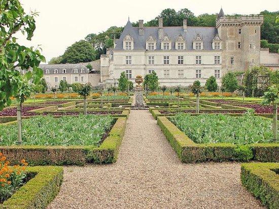 Château de Villandry:                   Chateau de Villandry