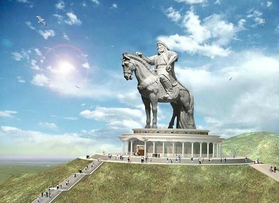 Photo of Monument / Landmark Genghis Khan Statue Complex at Ulaanbaatar, Mongolia