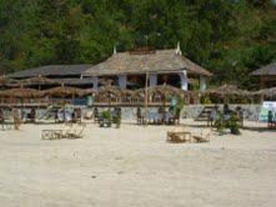 Angel Seafood Restaurant :                                     Angel Restaurant showing top deck