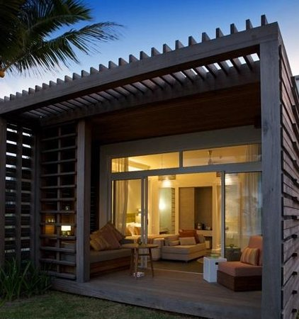 Long Beach Golf & Spa Resort: beach front villa late pm