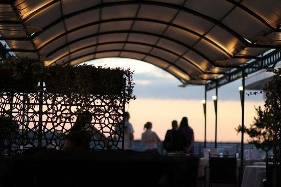 Hotel Bernini Bristol:                   Roof top reasturant and bar