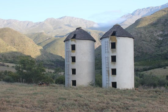 The Retreat at Groenfontein:                   The silos at the Retreat