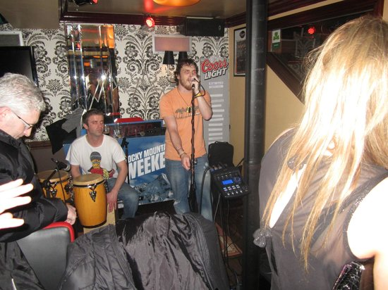 The Baggot Inn:                   Great live music