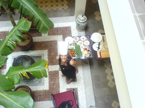 Little Hoian Boutique Hotel & Spa:                   Cooking Class - You will prepare the food here