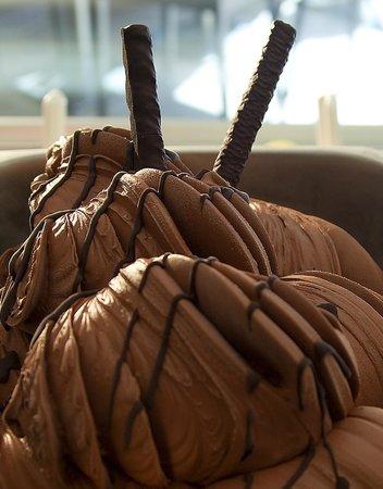 Heladeria Cafeteria Gelatolina: Helado de Chocolate