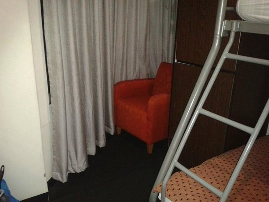 790 on George: chair and window