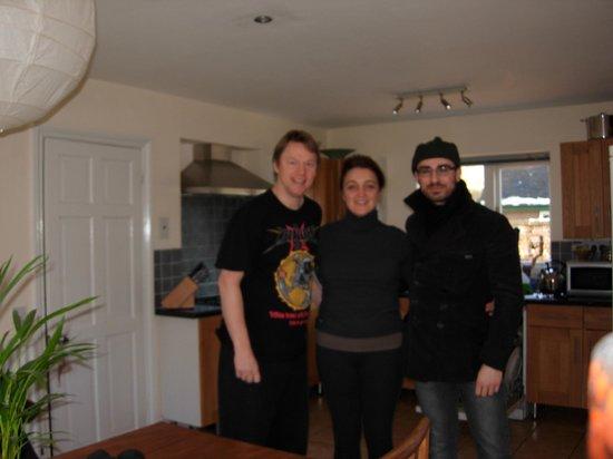 Beechborough B&B: Martin, Lizzie and I