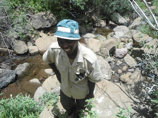 Maliba Riverside Huts:                   Pitso at the Waterfall