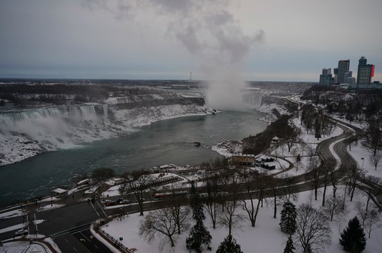 Sheraton on the Falls:                   Day time view from room 1968