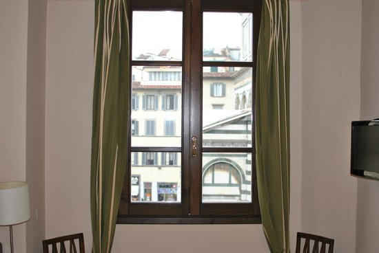 A Florence View B&B: window with a view