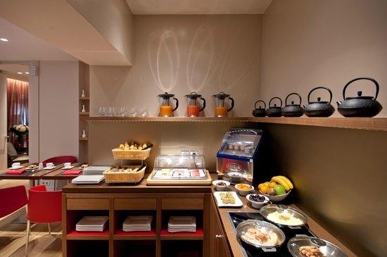 Hotel Monna Lisa: Breakfast