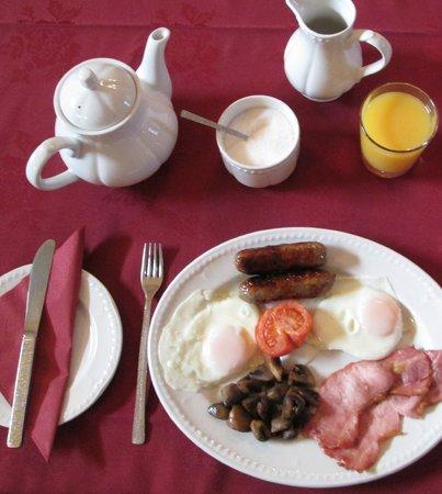 Heath House: Breakfast