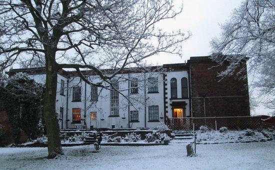Heath House under the snow