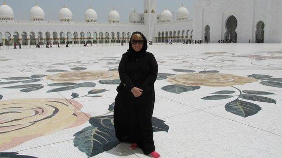 Sheikh Zayed Mosque:                   patio