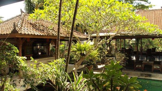 DePradha Guest House :                   Hotelgarten