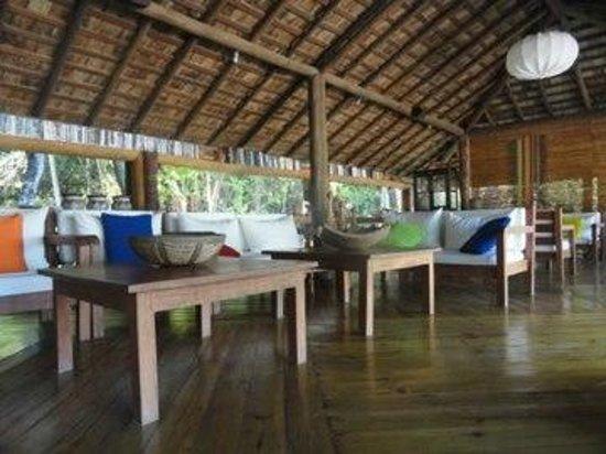 Anima Hotel:                   área de leitura, tipo um lounge