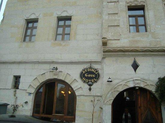 Aydinli Cave Hotel:                   FRENTE DO HOTEL