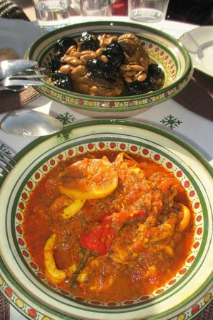 Riad Camilia:                   A product of our hard work learning to cook Moroccon food