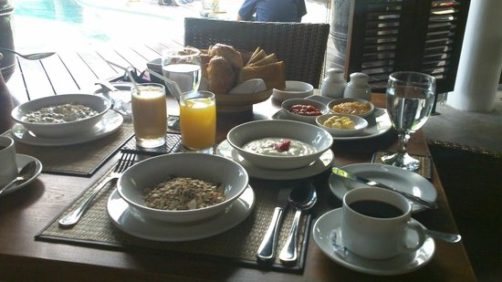 Gending Kedis Villas & Spa Estate:                   Super breakfast