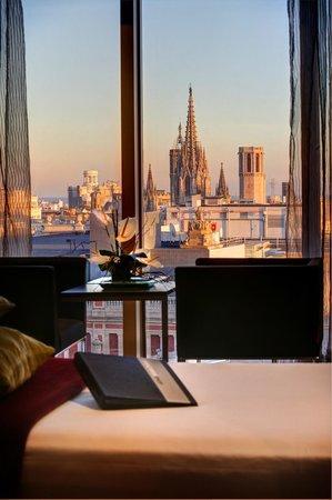 Olivia Plaza Hotel: Vistas de la habitación