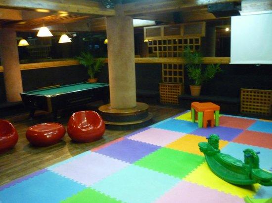 hotel pacifico salon de juegos para nios