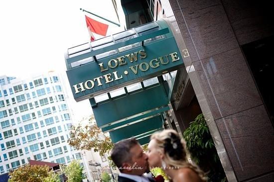 Loews Hotel Vogue:                                     mariage