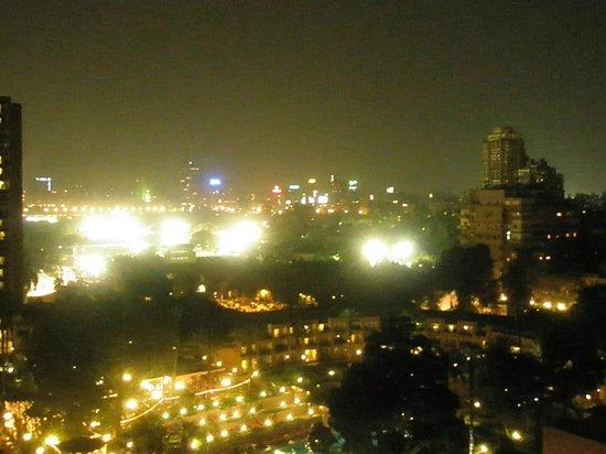 Cairo Marriott Hotel & Omar Khayyam Casino:                   view from room
