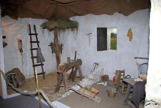 Museo de la Cabalgata:                   Parte de una de las salas donde se representan las escenas
