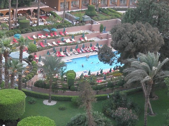 Cairo Marriott Hotel & Omar Khayyam Casino:                   pool