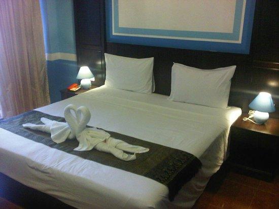 Amici Miei Hotel:                   Deluxe Room, upper floor