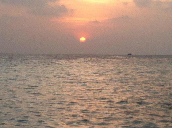 Baros Maldives:                   Sunset @ Baros