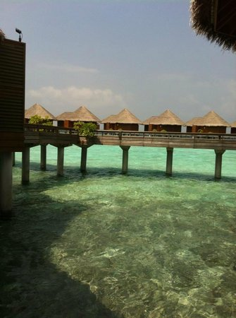 Baros Maldives:                   Water villas