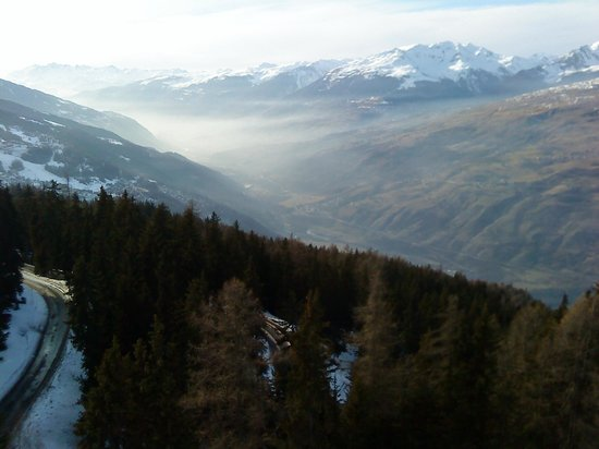 Hotel Mercure - Les Arcs 1800:                   Room with a view