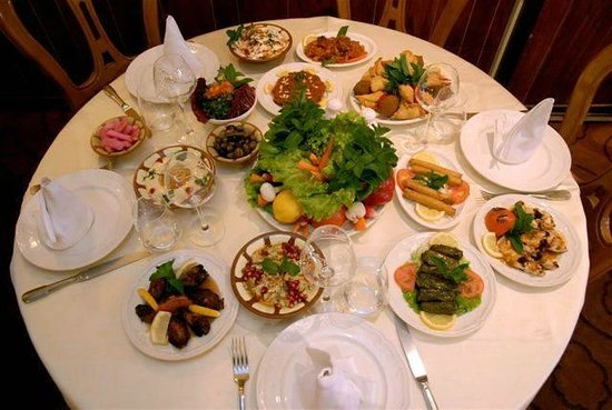 Une tres belle table photo de al wady paris tripadvisor - La table libanaise restaurant et traiteur libanais a paris 15 ...
