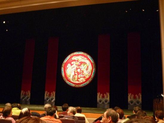 TaipeiEYE:                   開演前のステージ