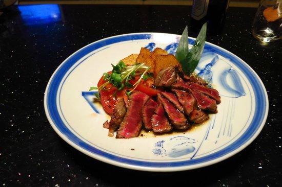 Konishiya:                   夕食です