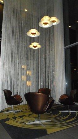 Wakeup Copenhagen Carsten Niebuhrs Gade :                   Seating area in Lobby