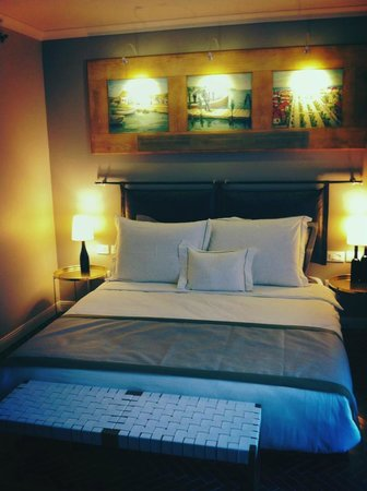 The Rothschild Hotel - Tel Aviv's Finest :                                                       what a comfy bed and room!!!