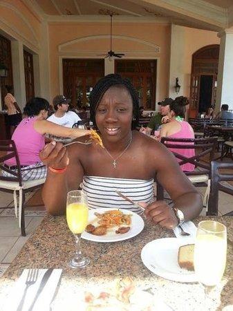 ClubHotel Riu Ocho Rios:                   champagne breakfast
