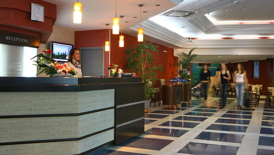 Hotel Montenegro Beach Resort: Hotel's reception desk