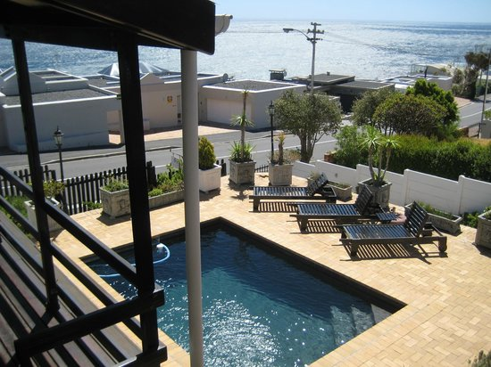 51 On Camps Bay Guesthouse:                   Pool, view from the balcony