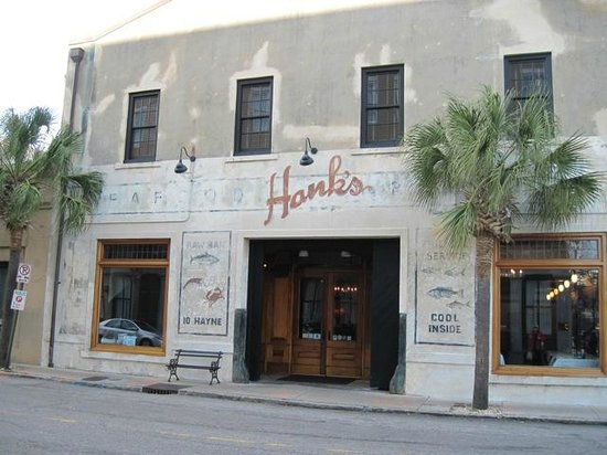 Hank 39 s exterior picture of hank 39 s seafood restaurant for Fish restaurant charleston sc