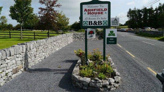 ashfield house sign