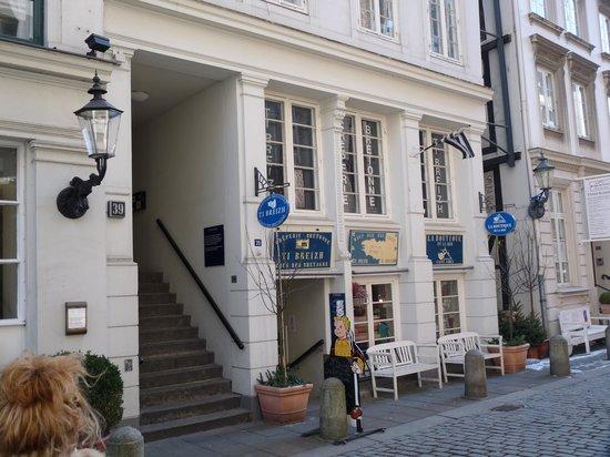 Ti Breizh Haus der Bretagne : Außenansicht