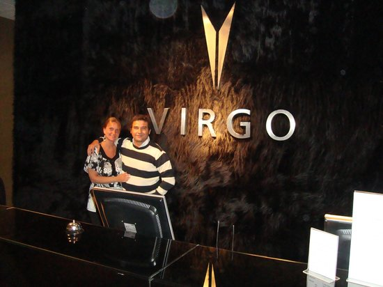 Virgo Hotel and Spa - Las Lenas:                   recepcion
