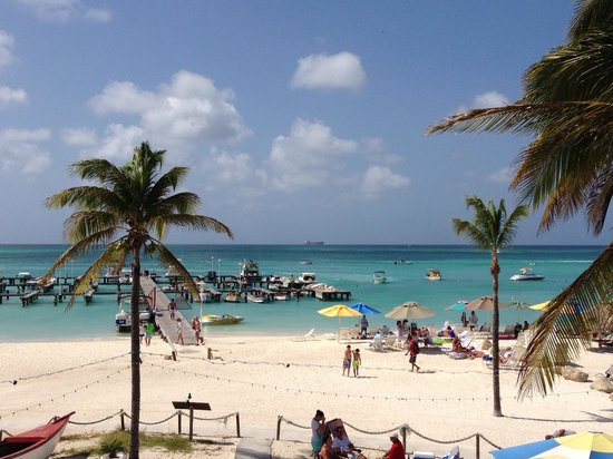 Marriott's Aruba Surf Club:                   Gorgeous beach!
